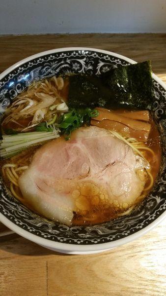 「醤油清湯麺」@麺肴 ひづきの写真