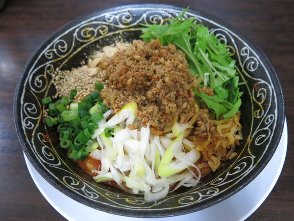 「汁なし坦々麺:890円」@丸直の写真