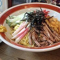 「冷し中華650円(麺硬め)+焼餃子300円+チャーハン」@正太楼の写真