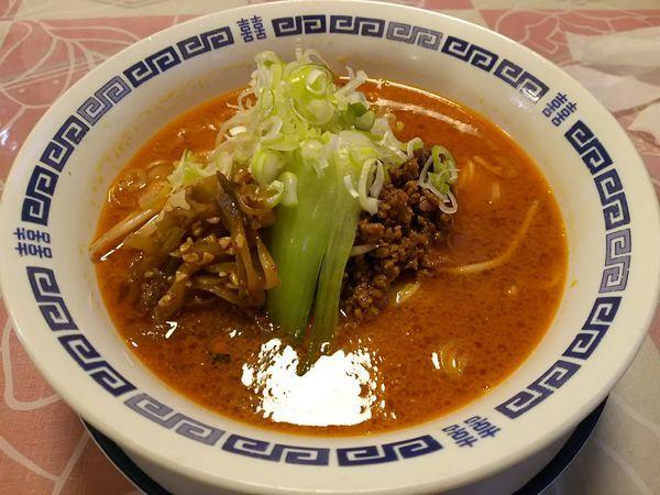 「担々麺」@中華料理 萬福の写真