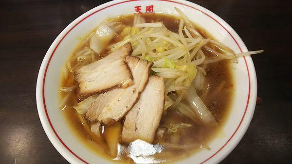 「天風ラーメン 600円」@ラーメン天風 長島店の写真