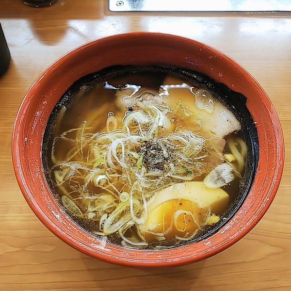「7種の魚介醤油らーめん」@くら寿司 清瀬店の写真