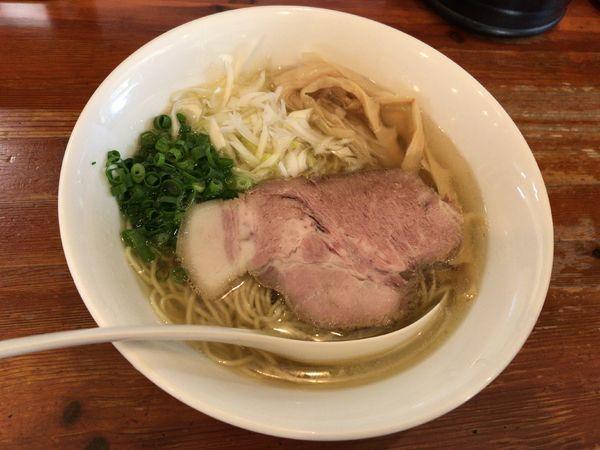 「名古屋コーチン塩」@麺屋 菜々兵衛の写真