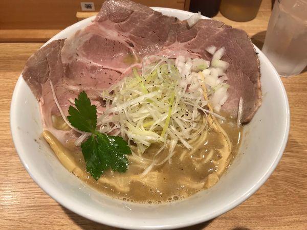 「鶏白湯(醤油)大 880円」@麺屋キラメキ 京都三条の写真