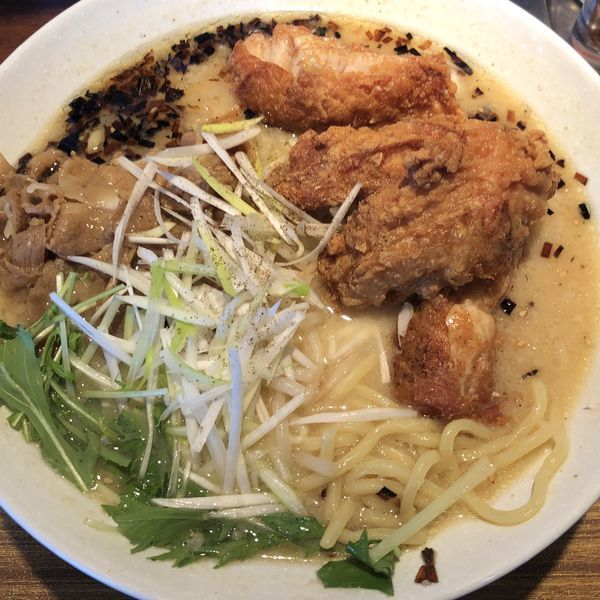 「みそ豪麺(白)」@らーめん亭 華の写真
