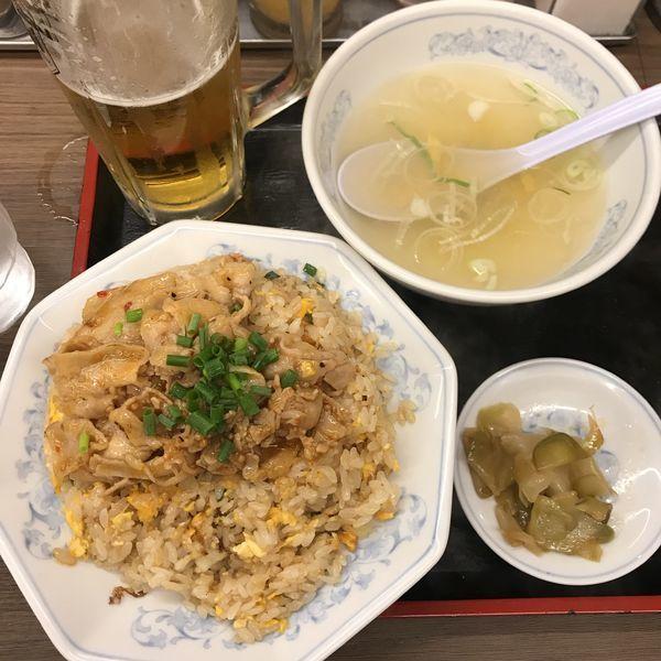 「肉チャーハン」@福しん バス通り店の写真