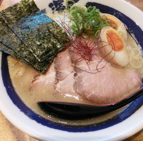「【限定】濃厚鶏白湯ラーメン 780円」@濃厚煮干しそば 麺匠 濱星 関内店の写真