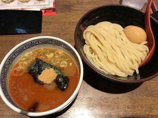 「つけ麺Dランチ+辛つけに変更」@つけ麺専門店 三田製麺所 川崎店の写真
