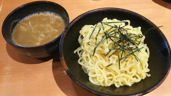 「つけめん(煮干し濃いめ  太麺  普通量)780円」@用賀らーめん たつみの写真