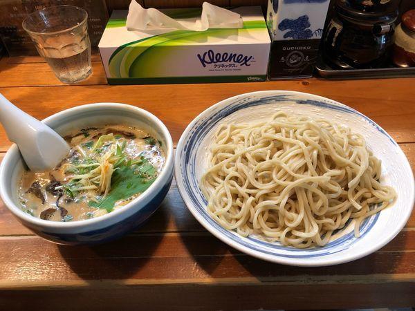 「(限定)味噌豚骨つけ麺」@愚直の写真