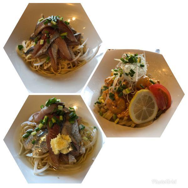 「いわしそば   +  その他 限定」@寿製麺よしかわ 川越店の写真