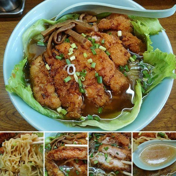 「カツラーメン 950円」@中華料理 ハルピンの写真