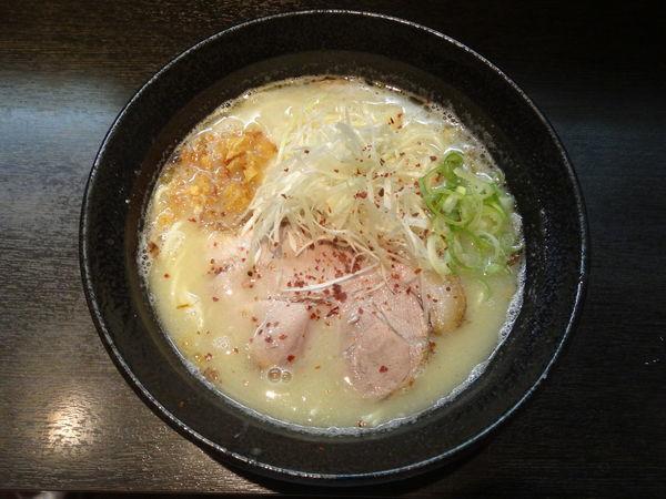 「鶏白湯 塩」@ラーメン こんじき 深草店の写真