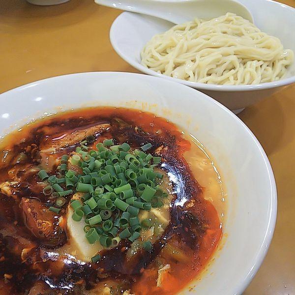 「【気まぐれ限定】トマト酸辣湯つけ麺」@麺屋 扇 SENの写真