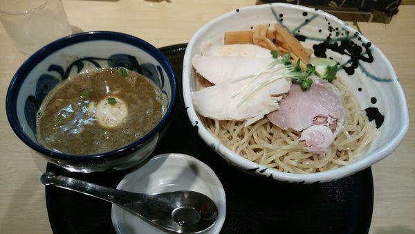 「特製煮干しつけ麺大盛」@つけ麺 たけもとの写真