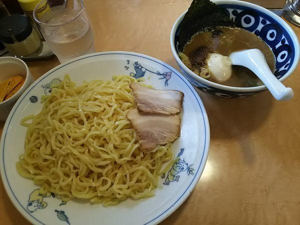 「【限定】濃厚つけ麺 (大盛り(麺2玉))」@テンホウ 松本渚店の写真