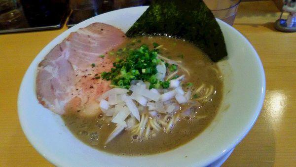 「泥煮干中華そばバカニボ」@麺屋 まほろ芭の写真