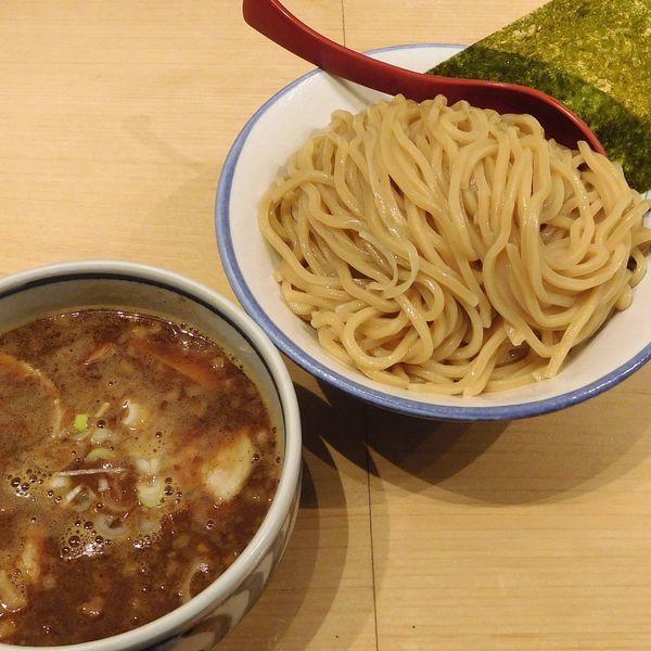 「豚つけ麺 大盛(300g 880円)」@麺屋 狢〜むじな〜の写真