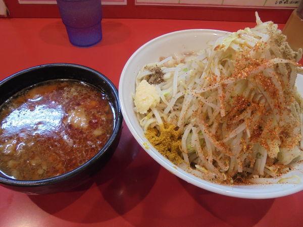 「辛いつけ麺」@麺屋 桐龍の写真
