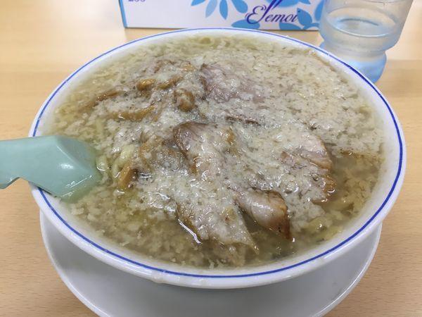「老麺 中油」@安福亭 柏町本店の写真
