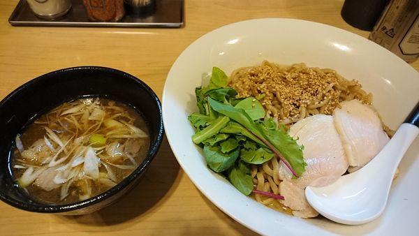 「煮干生姜水 煮干つけ麺 中盛」@麺屋Mの写真