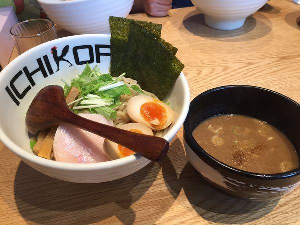 「特濃味玉つけ麺」@鶏そば十番 156 ICHIKORO トリエ京王調布店の写真