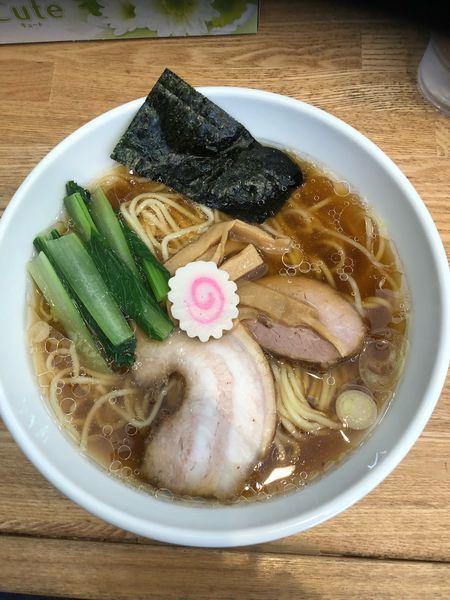 「らーめん680円+青菜50円」@らーめん いろはやの写真