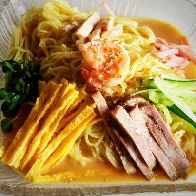 「冷やし中華(ゴマ)700円」@中国料理 別館 中島屋の写真