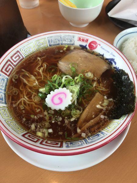 「かもめらーめん  醤油」@気仙沼かもめ食堂の写真