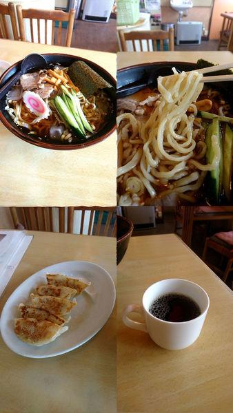 「『冷めたぁ~いラーメン+餃子(¥800+ランチ時¥230)』」@大龍の写真