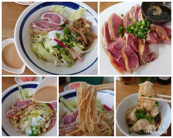 「【8月限定】真夏の地鶏刺し 冷や中 D(2種肉増量)」@MENYA 食い味の道有楽の写真