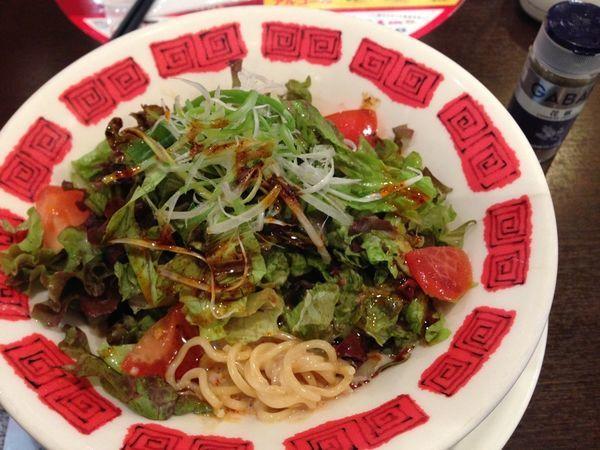 「たっぷり野菜の濃厚冷やし担担麺」@バーミヤン 一之江駅前店の写真