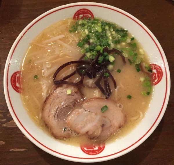 「ラーメン700円」@ラーメン 唐そば 渋谷2丁目店の写真