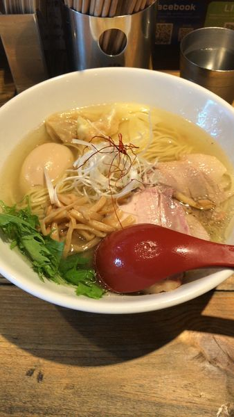 「特製塩ラーメン」@麺屋 翔 本店の写真