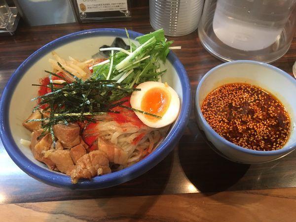 「辛露つけ麺 麺300g ¥1380」@AFURI 六本木店の写真