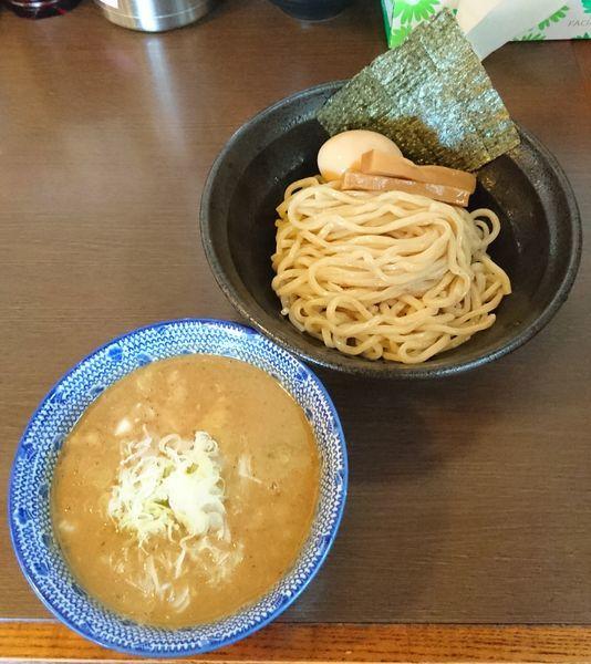 「つけ麺(並)+味玉」@つけ麺 弥七の写真