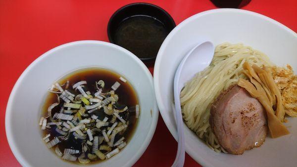 「冷やし醬油煮干しラーメン(限定)」@らーめん えんやの写真