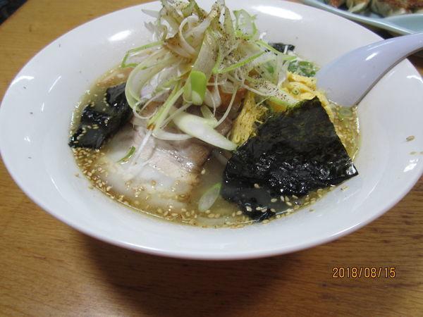 「一番星ラーメン780円」@お食事処 一番星の写真