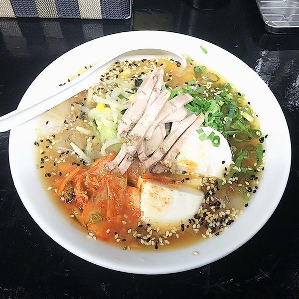 「【期間限定】冷やしタンメン(中太麺)」@たんめん本舗 ミヤビの写真