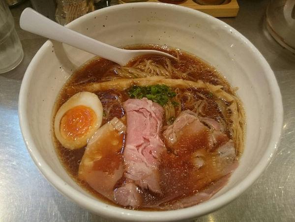 「限定醤油ラーメン」@らーめん蟻塚の写真