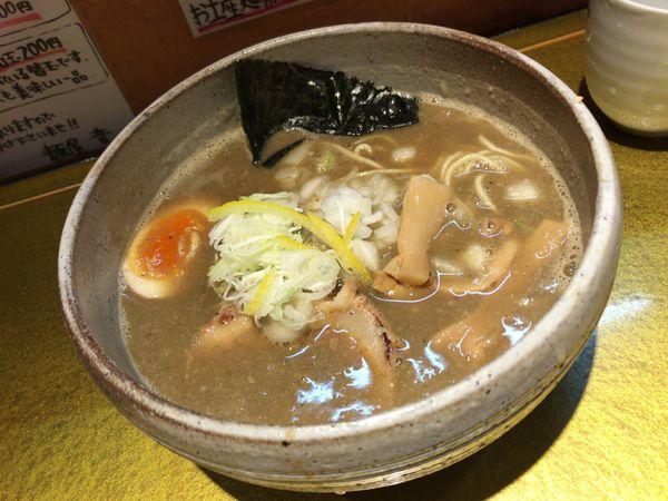 「煮干醤油そば」@麺屋 音の写真