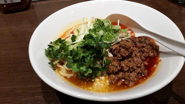「成都式坦々麺」@六坊担担面の写真
