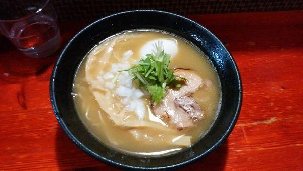 「味玉濃厚鶏白湯 塩」@コレキヨの写真