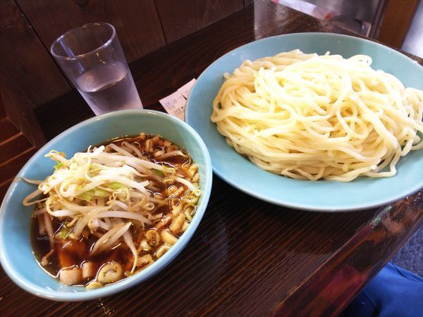 「つけそば大盛&野菜 900円」@つけそば 麺吉の写真