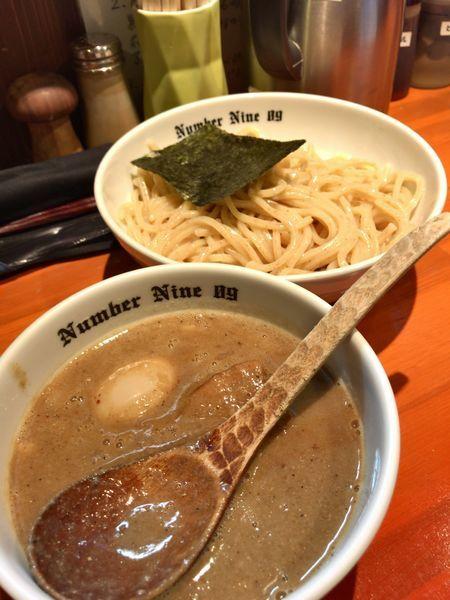 「濃厚煮干しつけめん」@麺Dining Number Nine 09の写真