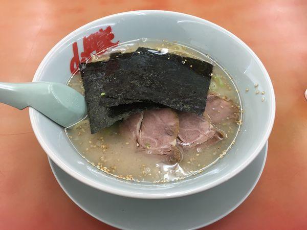 「塩ラーメン(麺固め)」@ラーメン山岡家 笛吹店の写真