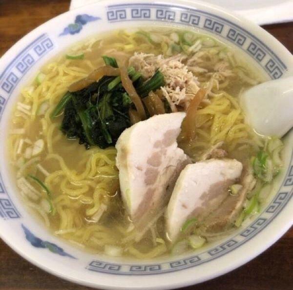 「上湯拉麺」@りょう華 工場店の写真