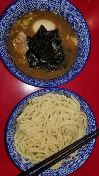 「得勢つけ麺」@自家製中華そば 勢得の写真