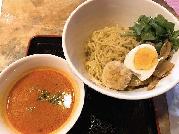 「トマトつけ麺」@麺屋キャンティの写真