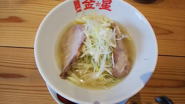 「金星ラーメン(塩ネギらー麺) 900円」@二代目 金星の写真